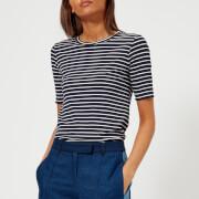 A.P.C. Women's Catskill T-Shirt - Dark Navy - L - Blue