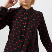 Rails Women's Kate Lips Shirt - Black - S - Black