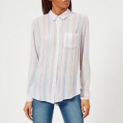 Rails Women's Charli Stripe Shirt - Multi - L - Multi