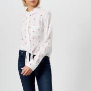 Rails Women's Val Lipstick Heart Shirt - White - L - White