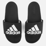 adidas Women's Adilette Logo Slide Sandals - Core Black