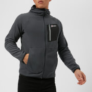 Berghaus Men's Deception Hooded FZ Fleece - Carbon