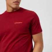 Berghaus Men's Peak Short Sleeve T-Shirt - Red Dehila