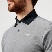 Barbour Men's Sports Polo Mix Shirt - Midnight