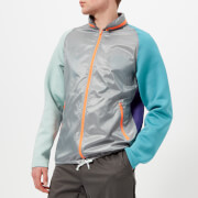 adidas by kolor Men's Fabric Mix Jacket - MGH SOL Grey - L - Grey