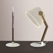 3D Table Lamp - Brown