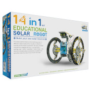 Image of 14-in-1 Solar Robot Kit - White/Blue/Black