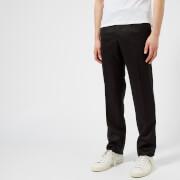 Matthew Miller Men's Tuxedo Trousers - Black/Black