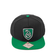 Harry Potter Slytherin Snapback Cap - Black
