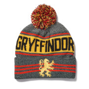 Harry Potter Gryffindor Bobble Hat - Grey