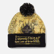 Harry Potter Marauder's Map Hat - Black