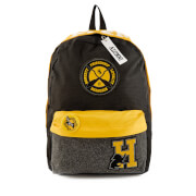 Harry Potter Hufflepuff House Backpack with Patches - Black