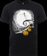 T-Shirt Homme Jack Skellington Os Daddy - L'Étrange Noël de Monsieur Jack - Gris