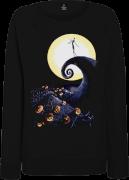 The Nightmare Before Christmas Jack Skellington Pumpkin King Colour Women's Schwarz Pullover