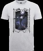 The Nightmare Before Christmas Jack Skellington Zero Pose Grey T-Shirt