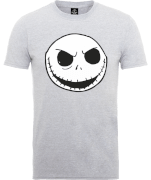 The Nightmare Before Christmas Jack Skellington Grey T-Shirt