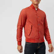 Woolrich Men's Wallaby Bomber Jacket - Aurora Red - L - Red