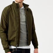Woolrich Men's Shore Bomber Jacket - Dark Green - L - Green