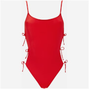 Solid & Striped Women's The Lily Swimsuit - Red - L - Red
