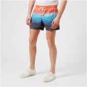 Missoni Men's Swim Shorts - Red/Multi