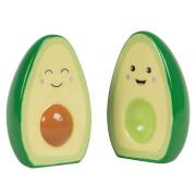 Sass & Belle Happy Avocado Salt and Pepper Set