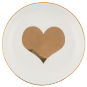 Sass & Belle Gold Heart Trinket Dish