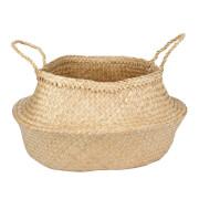 Parlane Chau Palm Leaf Basket - Natural