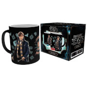 Fantastic Beasts and Where to Find Them Newt Scamander Heat Change Mug