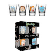 Rick et Morty – Verres à shot visage