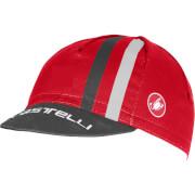 Castelli Podio Doppio Cap - Red