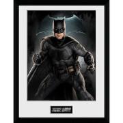 Justice League Batman Solo Framed Photograph 12 x 16 Inch