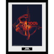 Image of 2001: A Space Odyssey Graphic Framed Photograph 12 x 16 Inch