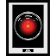 Image of 2001: A Space Odyssey Hal 9000 Framed Photograph 12 x 16 Inch