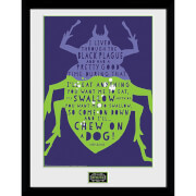 Beetlejuice Beetle Framed Photograph 12 x 16 Inch