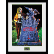Beetlejuice Grave Framed Photograph 12 x 16 Inch