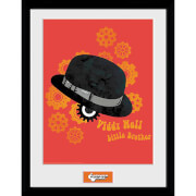 Clockwork Orange Viddy Well Framed Photograph 12 x 16 Inch