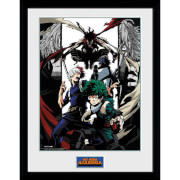 My Hero Academia Heroes and Villains Framed Photograph 12 x 16 Inch