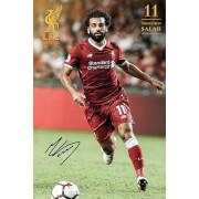 Liverpool Salah 17/18 Maxi Poster 61 x 91.5cm