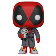 Figura Pop! Vinyl Deadpool con Bata - Marvel Deadpool Playtime