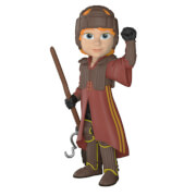 Harry Potter Ron in Quidditch Uniform Rock Candy Vinyl Figure