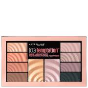 Купить Палетка теней + хайлайтер Maybelline Total Temptation Eyeshadow & Highlight Palette