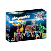 Playmobil Super 4 Alien Warrior With T Rex Trap (9006)