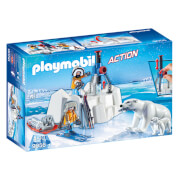 Playmobil Arctic Explorers With Polar Bears (9056)