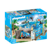 Playmobil Family Fun Aquarium with Fillable Water Enclosure (9060)