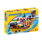 Playmobil 1.2.3 : Bateau de pirates (9118)