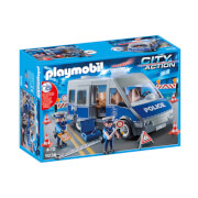 Playmobil City Action Policemen with Van with Flashing Lights and Sound (9236)