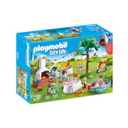 Playmobil City Life Housewarming Party With Illuminating Bunting And BBQ (9272)