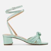 Rebecca Minkoff Women's Rosalinda Block Heeled Sandals - Green - UK 3 - Green