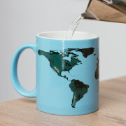 Global Warming Heat Changing Mug - Blue
