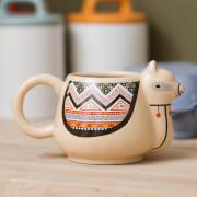 Llama Mug - Brown
